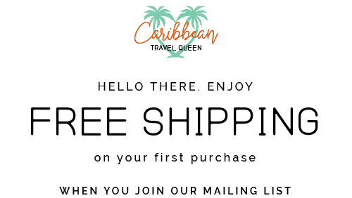 Caribbean Travel Queen Shop Vacation and Travel Tees Boutique