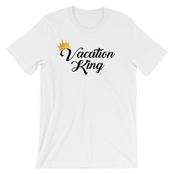 Vacation King Men T-shirt - Caribbean Travel Queen Shop Vacation and Travel Tees Boutique