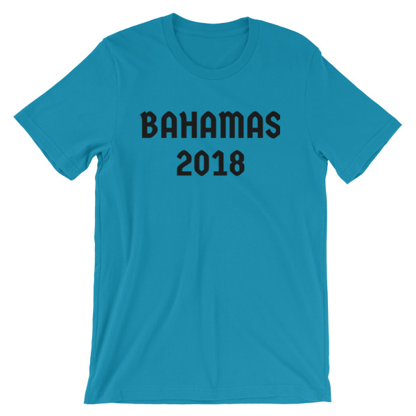 #Bahamas Men T-shirt - Caribbean Travel Queen Shop Vacation and Travel Tees Boutique