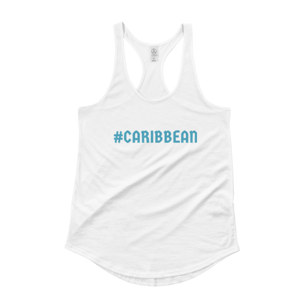 Caribbean Ladies Tank Top - Caribbean Travel Queen Shop Vacation and Travel Tees Boutique