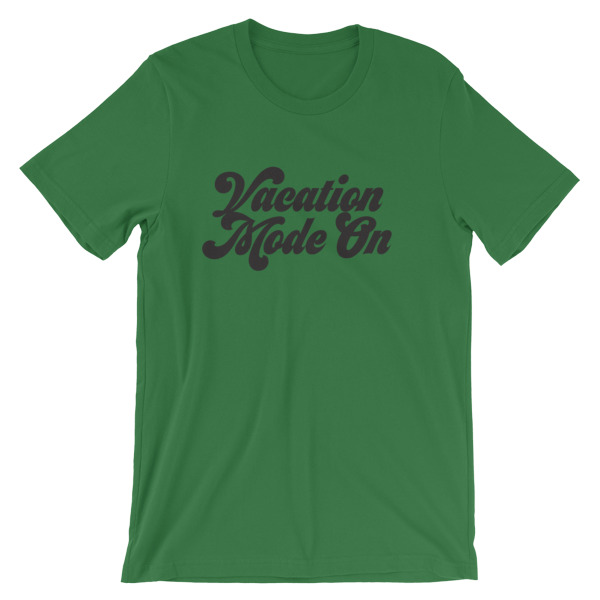 Vacation Mode On Men T-shirt - Caribbean Travel Queen Shop Vacation and Travel Tees Boutique