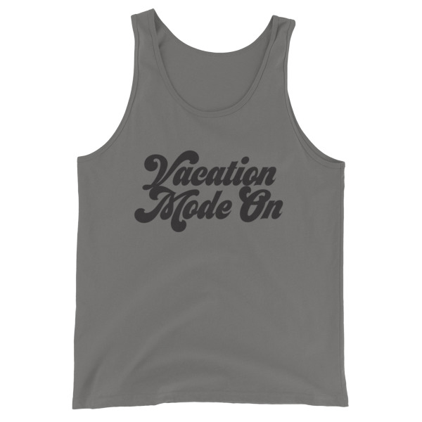 Vacation Mode On Men Tank Top - Caribbean Travel Queen Shop Vacation and Travel Tees Boutique
