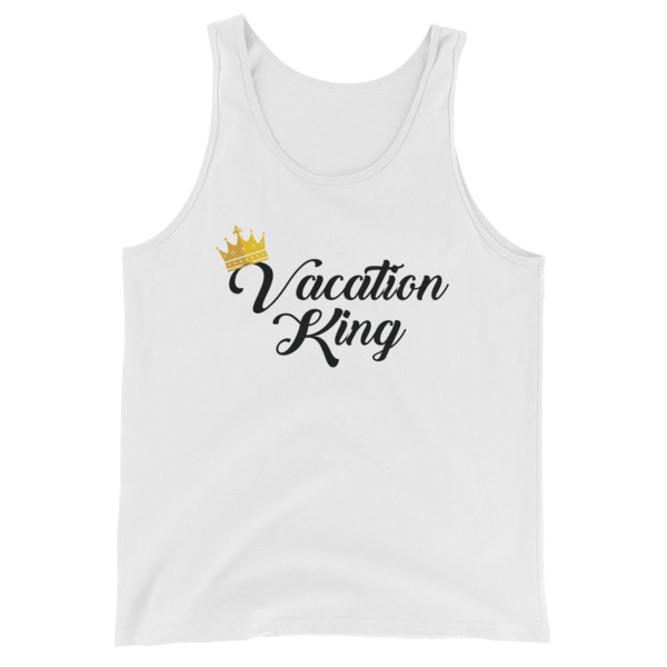 Vacation King Men Tank Top - Caribbean Travel Queen Shop Vacation and Travel Tees Boutique