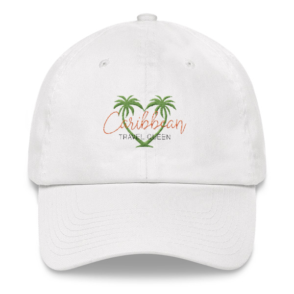 Cap - Caribbean Travel Queen Shop Vacation and Travel Tees Boutique