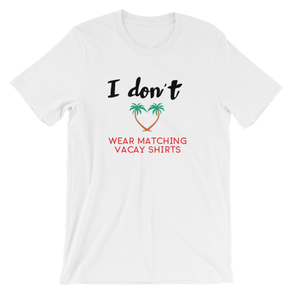Matching Vacation Men T-shirt - Caribbean Travel Queen Shop Vacation and Travel Tees Boutique